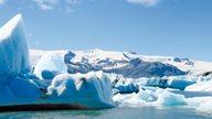 Die Gletscherlagune Jökulsarlon im Südosten Islands
