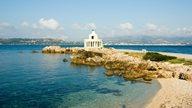 Am Meer in Argostoli auf Kefalonia