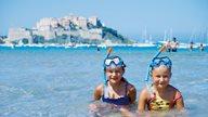 Ein Familienfreundlicher Strand in Calvi