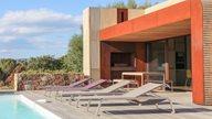 Ferienhaus Korsika Pool mit Liegen