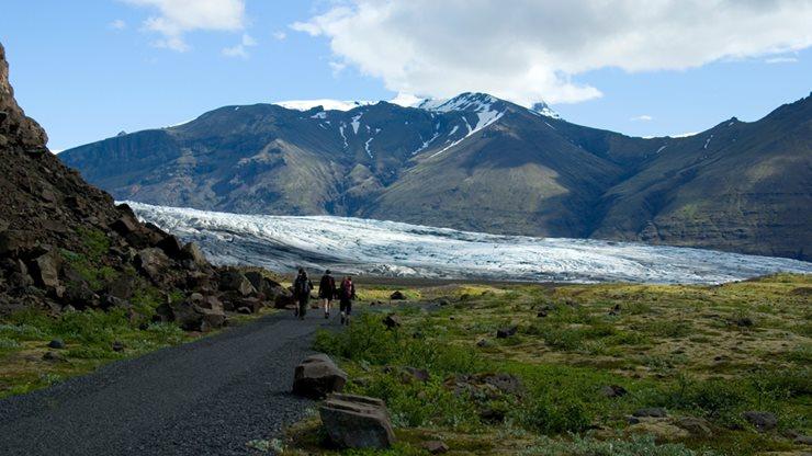 Das Wildnisgebiet Skaftafell in Islands Vatnajökull-Nationalpark