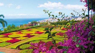 Der botanische Garten oberhalb von Funchal